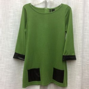 New Directions Green Tunic Size S